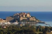 Calvi- Blck auf die Zitadelle
