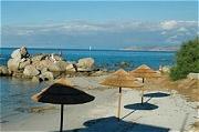 Urlaub mit Hund auf Korsika Strand L'Ile Rousse