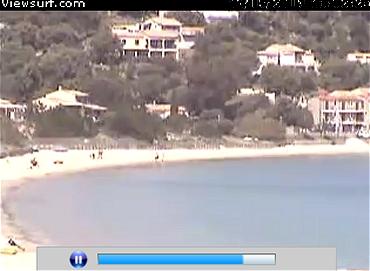 Webcam in Campomoro Korsika
