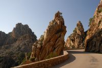 Die Felslandschaft Calanches de Piana im Süden von Porto