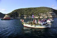 Zu Ehren des Schutzheiligen der Fischer bietet das Pescadori-Fest am 2. Juni ein buntes Programm im Hafen von Bonifacio.