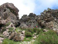 """Auf Korsika gibt es insgesamt drei Klettersteige (Via Ferrata, wörtlich übersetzt """"Eiserner Weg"""")."""