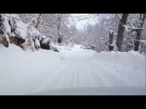 Station Ski Val d'Ese Corse Sud (5 Février 2012)